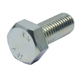 ZINC CR3 HEX BOLT FULL THREAD