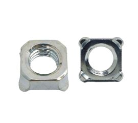 ZINC CR3 SQUARE WELD NUT 1D