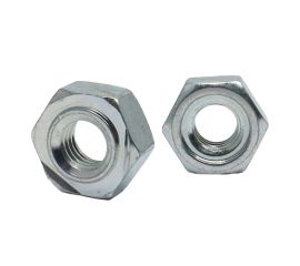 ZINC CR3 HEX WELD NUT 1A TYPE