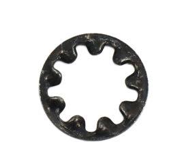 BLACK ZINC CR3 INTERNAL TOOTH LOCK WASHER