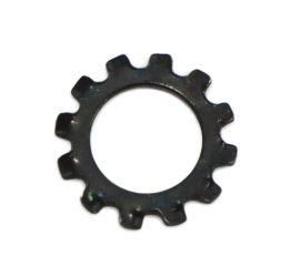 BLACK ZINC CR3 EXTERNAL TOOTH LOCK WASHER