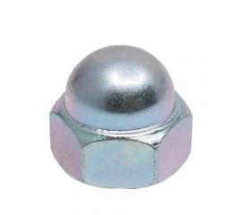 ZINC CR3 HEX DOMED CAP NUT