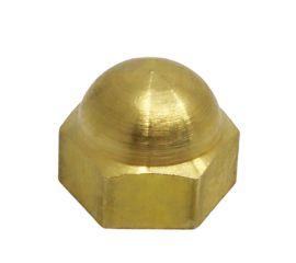 BRASS HEX DOMED CAP NUT