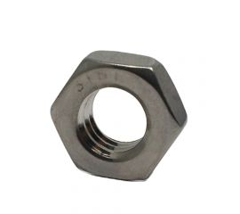 SUS316L HEX NUT JIS TYPE-3 (THIN TYPE)
