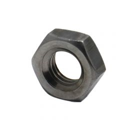 S45C(H)/BLACK HEX NUT JIS TYPE-1 FINE PITCH